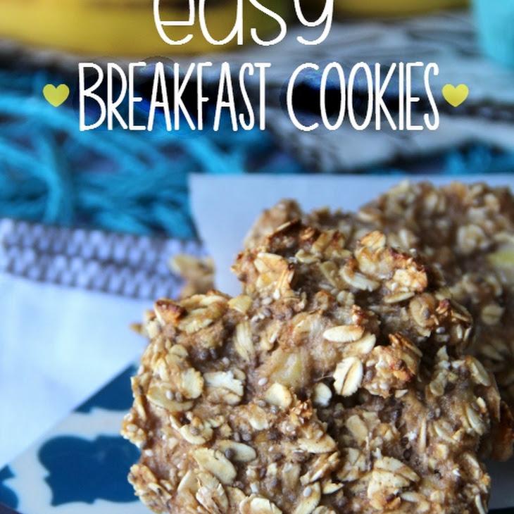 Healthy Oatmeal Breakfast Cookies Recipe