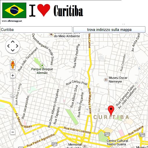 Curitiba maps
