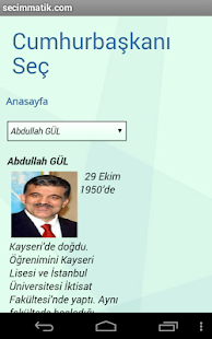 seçim anketi - screenshot thumbnail