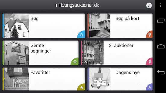 Tvangsauktioner- screenshot thumbnail