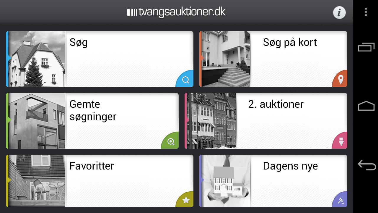Tvangsauktioner- screenshot