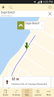 Screenshot of Aruba Travel Guide
