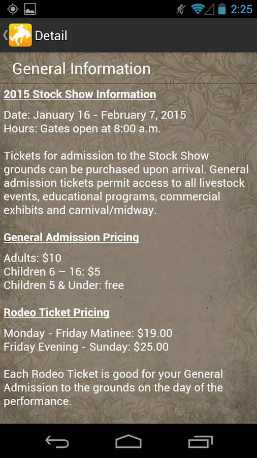 Fort Worth Stock Show & Rodeo- screenshot