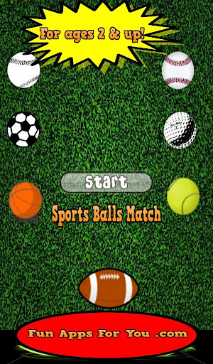 Sports Ball Matching Game