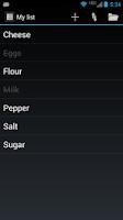 Screenshot of Quick List Free 2
