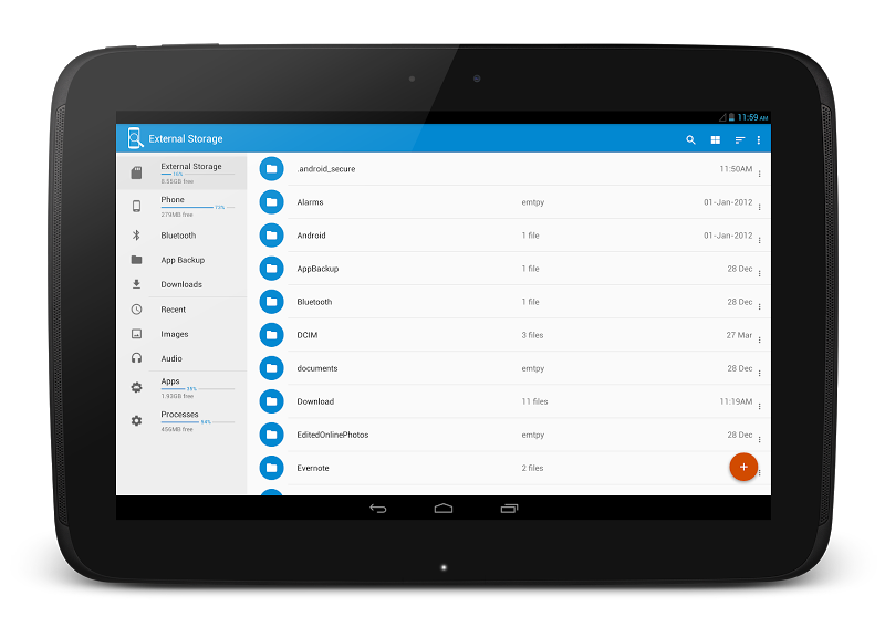 File Manager Pro - USB Storage, Rooted, Android TV Screenshot 8