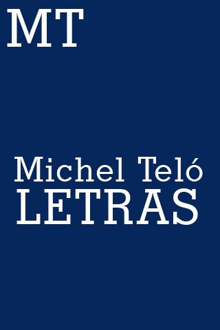 Michel Teló Letras