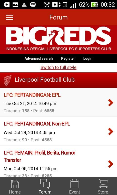 BIGREDS Official Mobile Apps- screenshot