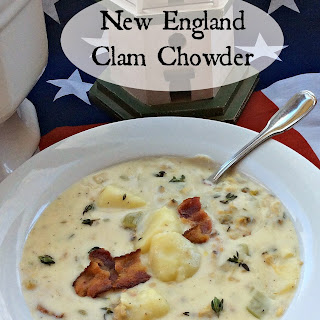 New England Clam Chowder - Creamy and Delicious!.