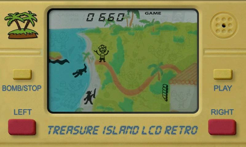 Treasure Island LCD Retro- screenshot