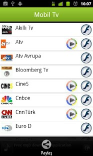 Mobil Tv - screenshot thumbnail