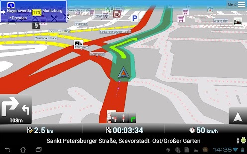 MapFactor: GPS Navigation - screenshot thumbnail