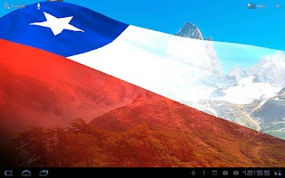 Screenshot of SA Flags Live Wallpaper