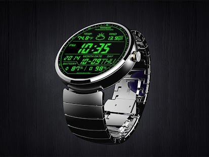 F01 WatchFace for Moto 360 - náhled