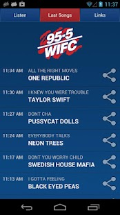 95.5 WIFC - screenshot thumbnail