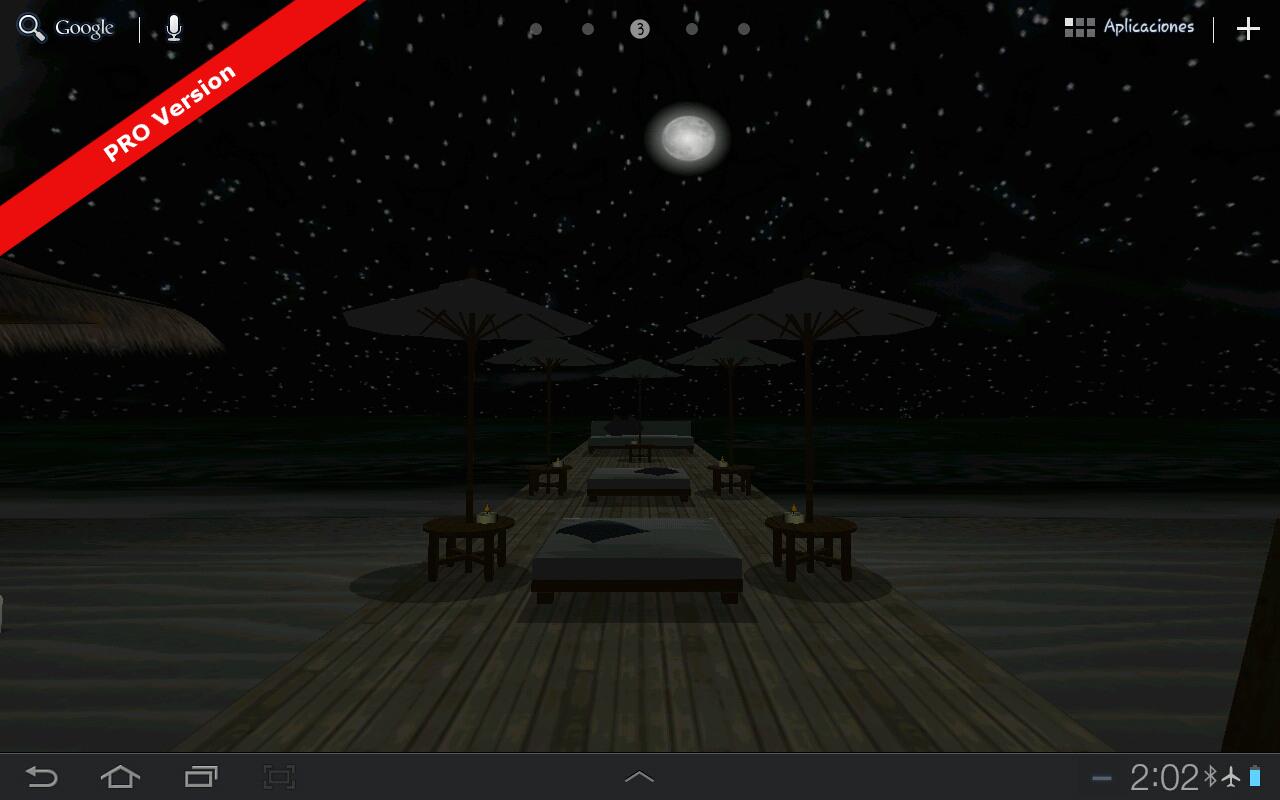 Beach In Bali 3D FREE LWP - screenshot