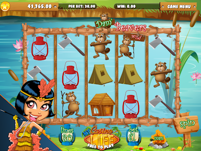 Dam Beavers Slot Saga HD