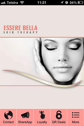 【免費生活App】Essere Bella Beauty Therapy-APP點子