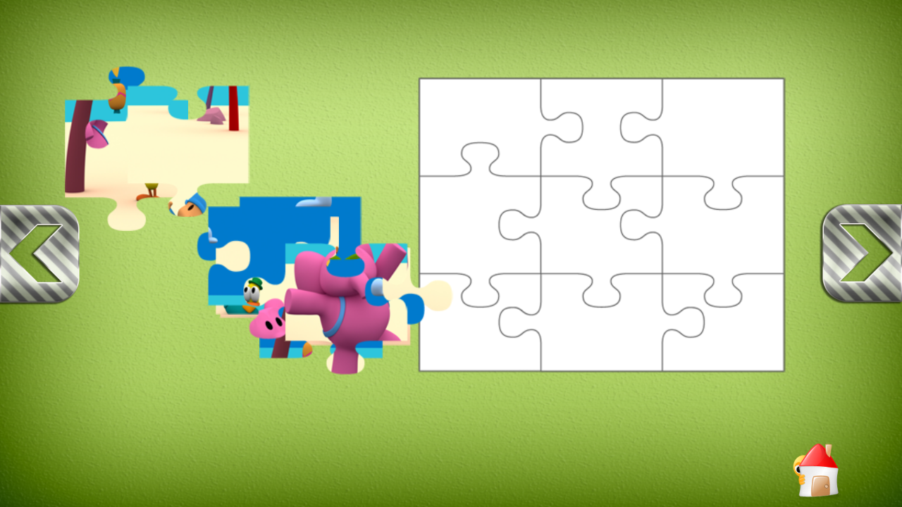 Puzzles de Pocoyo - screenshot