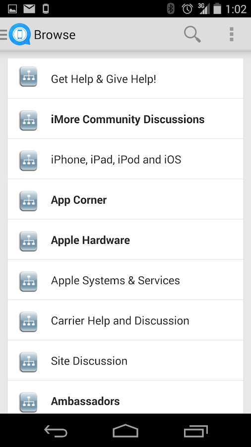 iMore Forums - screenshot