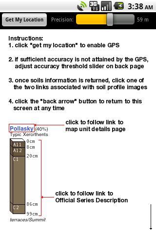 SoilWeb- screenshot