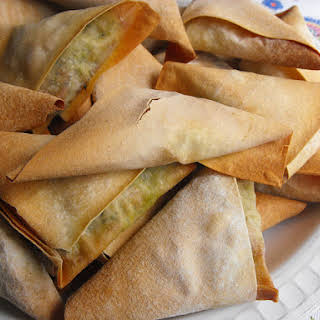 Green Soup Turnovers.