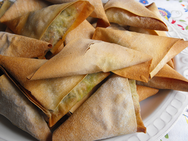 Green Soup Turnovers Recipe