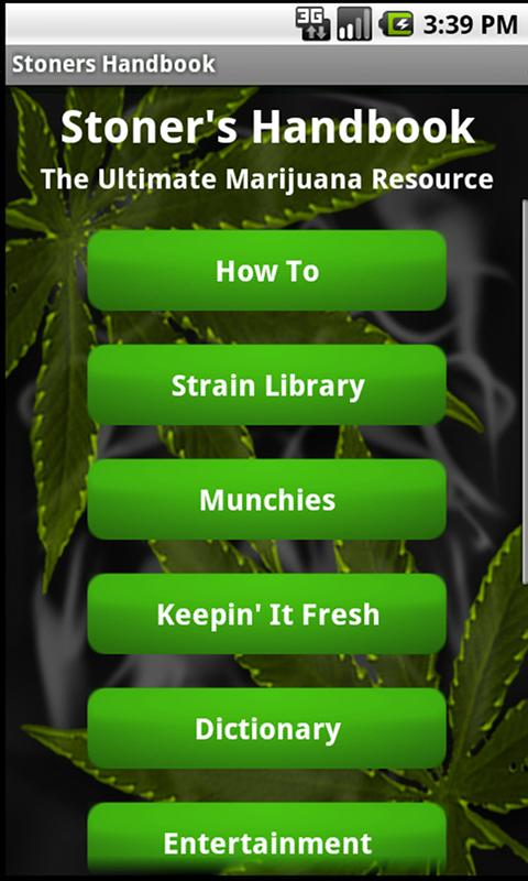 Stoner's Handbook L- Bud Guide - screenshot