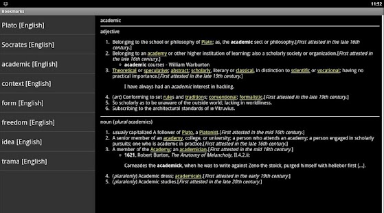 Online Dictionary- screenshot thumbnail