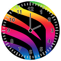 Animal Print Analog Clock icon