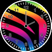 Animal Print Analog Clock