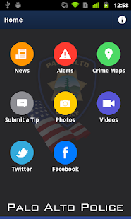 Palo Alto Police Department- screenshot thumbnail