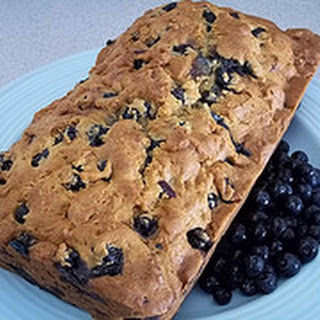 Homemade Blueberry Bread