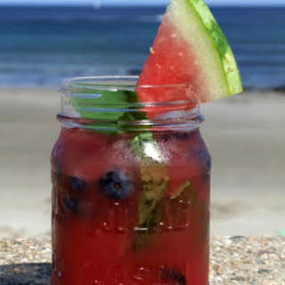 Watermelon- Tequila Cocktail.