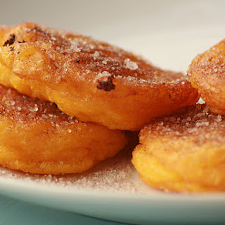 """The South African pumpkin fritters also known as """"Pampoenkoekies"""""""