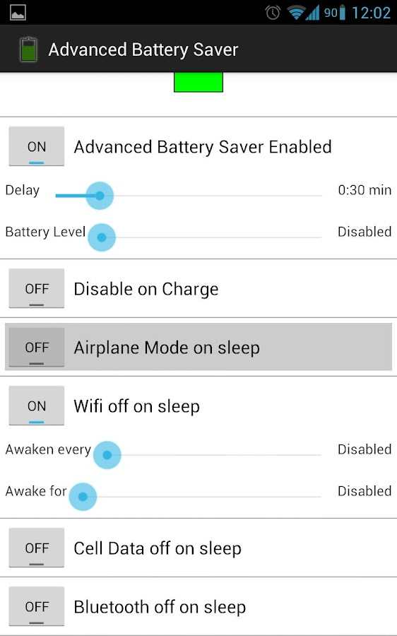 Advanced Battery Saver - screenshot