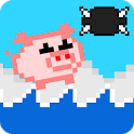 Flappy Pig (Ad free, no ads) icon