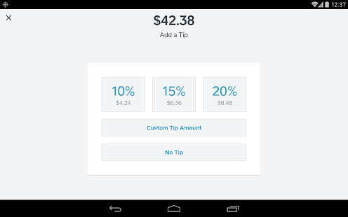 Square Register - POS Screenshot 19