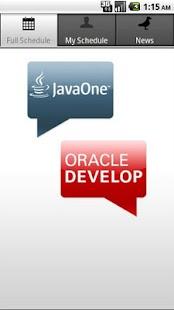 JavaOne/Oracle Dev Community - screenshot thumbnail