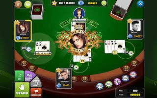Screenshot of BlackJack Arena