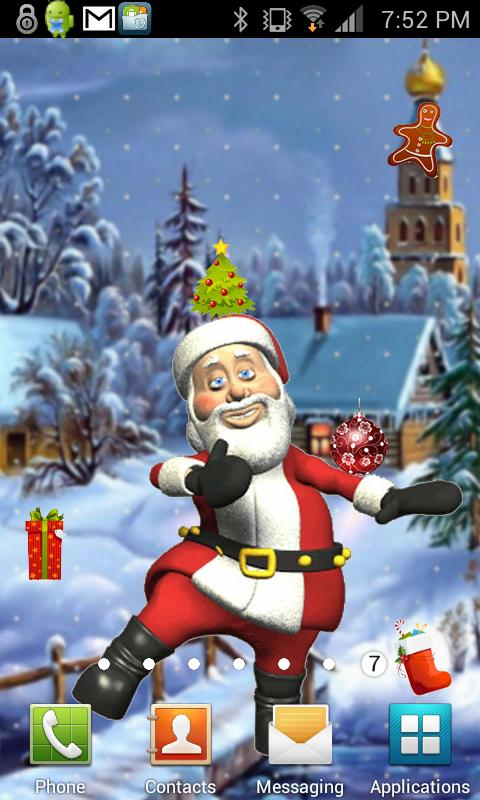 Santa Christmas Gifts Live- screenshot