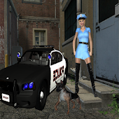 Lady K-9 Cop GO LOCKER THEME