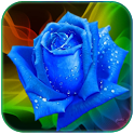 Galaxy S3 Rain Rose icon