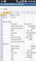 Screenshot of Petroleum Volume Correction Pr