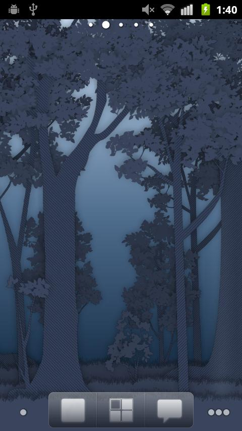 Paper Forest Live Wallpaper - screenshot
