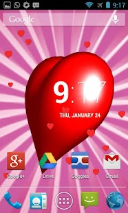 Heart 3D Live Wallpaper - screenshot thumbnail