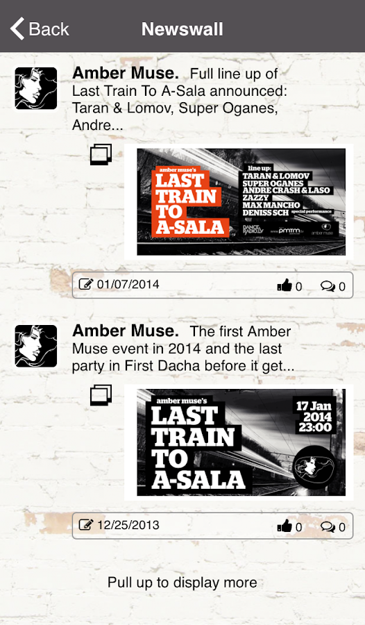 Amber Muse - screenshot