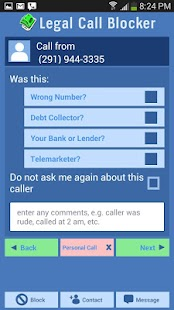 Legal Call Blocker FREE- screenshot thumbnail
