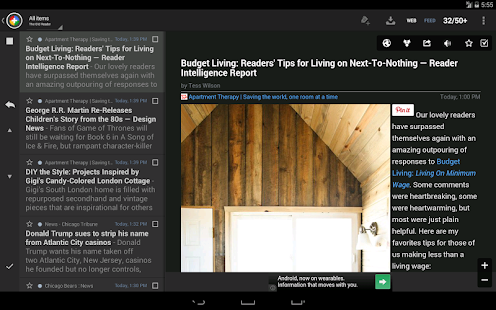 The Old Reader for News+ - screenshot thumbnail