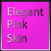 Elegant Pink Keyboard Skin